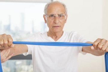 אימון גופני בגיל המבוגר